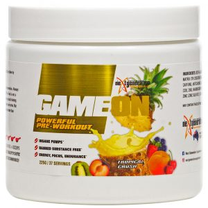 Game On Pre Workout Tropical Crush 225g