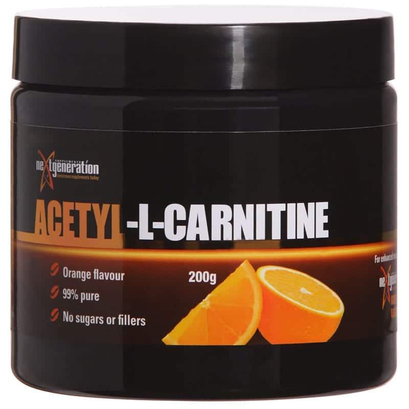 Acetyl L Carnitine Orange 200g