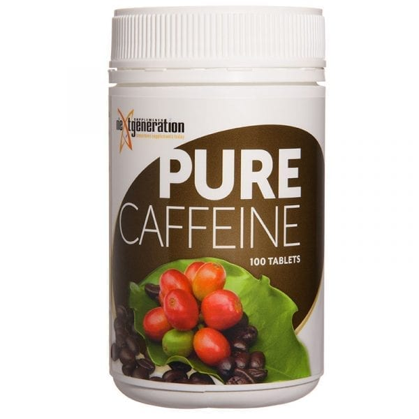 Pure Caffeine Tablets 100
