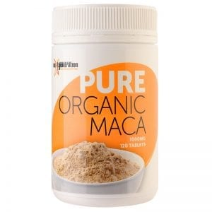 Pure Organic Maca 120 Tablets