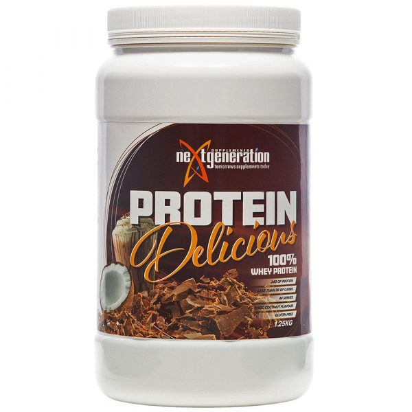 Protein Delicious Choc Coconut Protein Powder 1.25kg