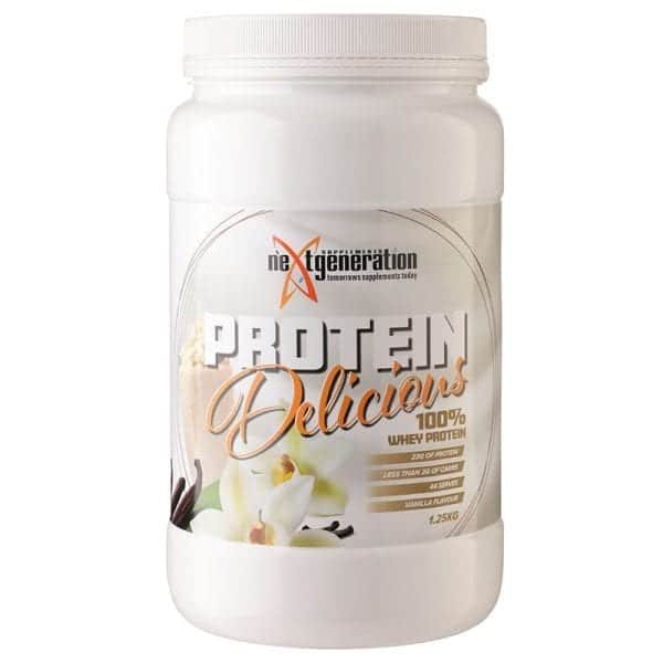 Protein Delicious Vanilla Protein 1.25kg