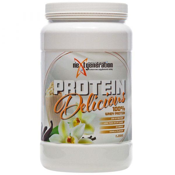 Protein Delicious Vanilla Protein Powder 1.25kg