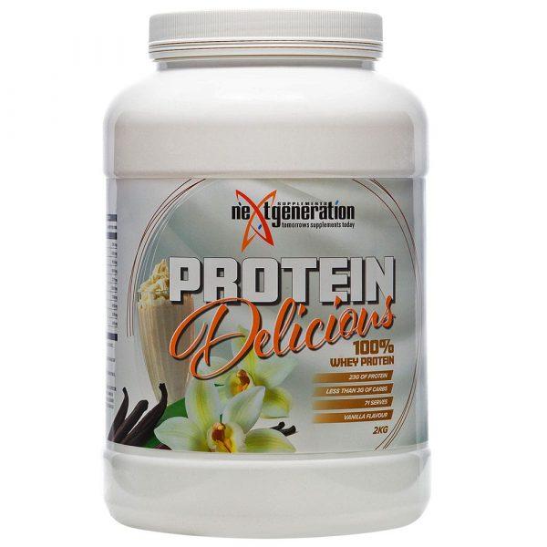 Protein Delicious Vanilla Protein Powder 2kg