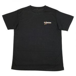 Black Crew Neck Tshirt Front