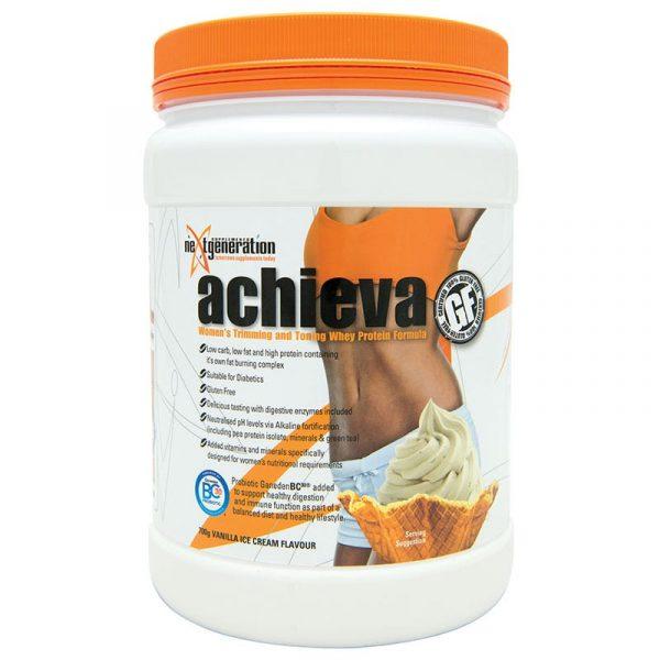 Achieva Womens Protein Shake Vanilla 700g