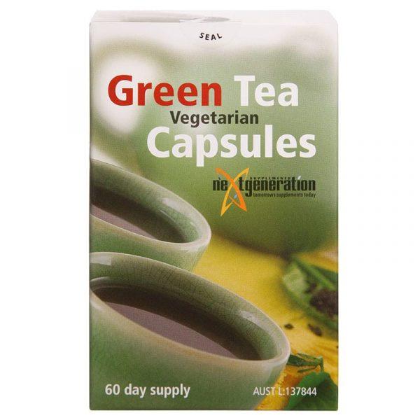 Green Tea Veggie 60 Capsules