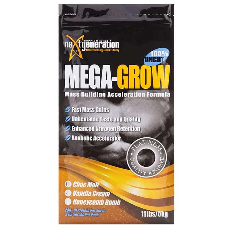 MegaPro Mass Gainer Protein Powder 5kg