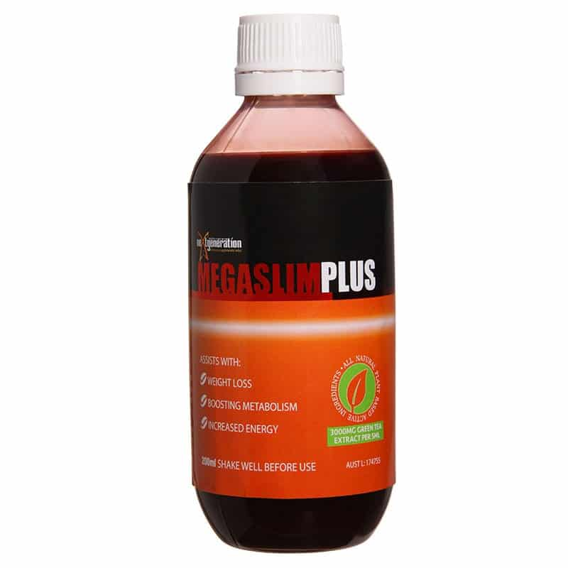 Megaslim Plus Green Tea Extract Assists Weight Loss Energy Levels
