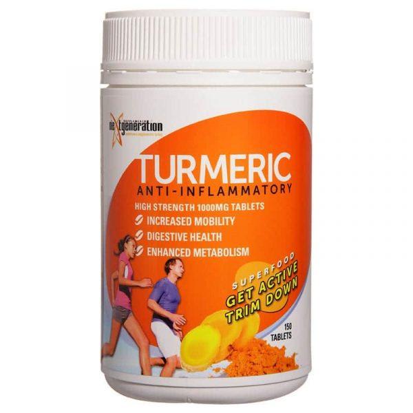 Turmeric 150 Tablets