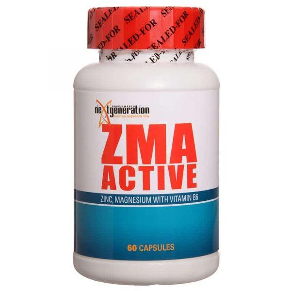 ZMA Active 60 Capsules