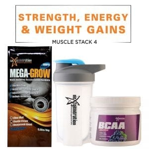 Muscle Stack 4 - Strength, Energy & Weight Gains