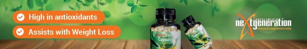 Banner - Green Tea Capsules