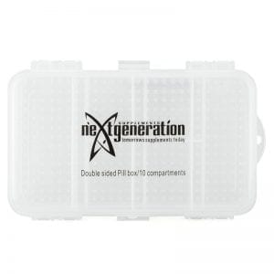 Pill Box / Supplement Organiser Large