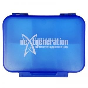 Pill Box / Supplement Organiser Small