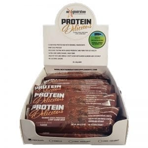 Protein Delicious Protein Bar Chocolate 10 x 60g box