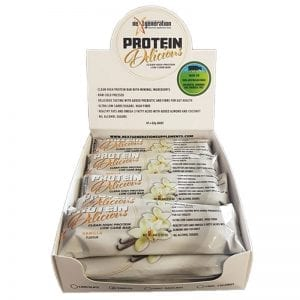 Protein Delicious Protein Bar Vanilla 10 x 60g box